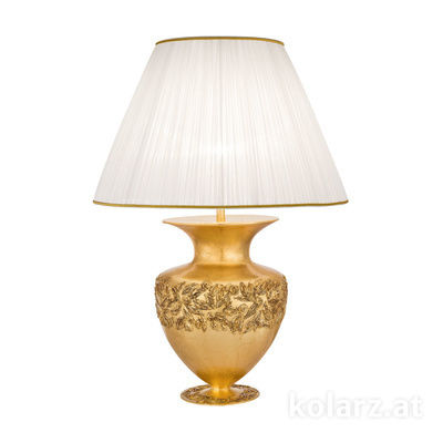 0423.71L.GA 24 Carat Gold, Gold, Ø60cm, Height 90cm, 1 light, E27