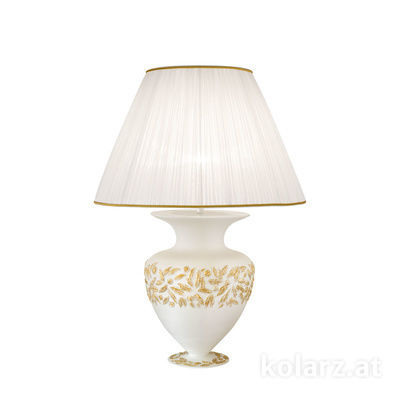 0423.71L.WA 24 Carat Gold, White, Ø60cm, Height 90cm, 1 light, E27