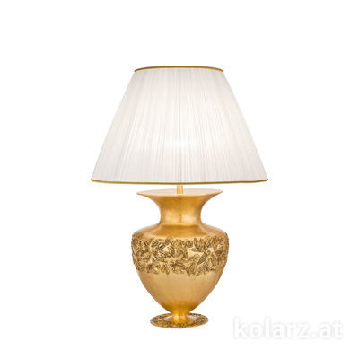 0423.71M.GA 24 Carat Gold, Gold, Ø45cm, Height 65cm, 1 light, E27