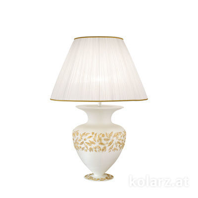 0423.71M.WA 24 Carat Gold, White, Ø45cm, Height 65cm, 1 light, E27