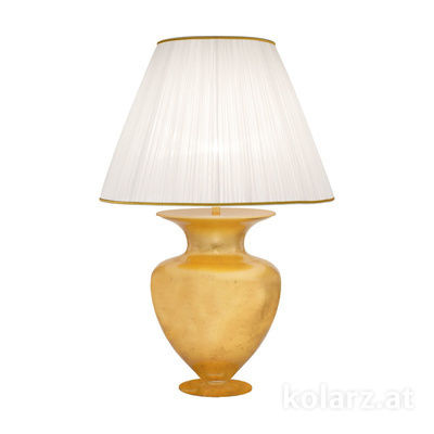 0424.71L.Au 24 Carat Gold, Gold, Ø60cm, Height 90cm, 1 light, E27