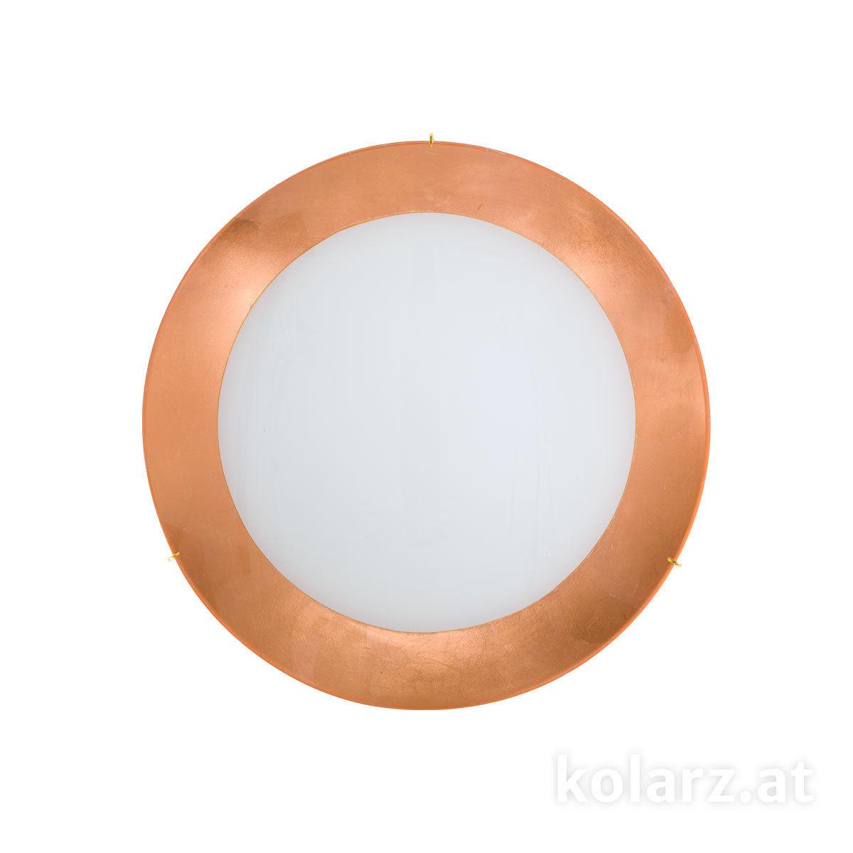 deckenleuchte serena leaf copper 40 24 karat gold. Black Bedroom Furniture Sets. Home Design Ideas