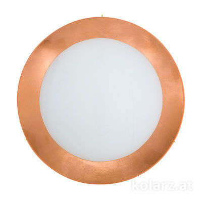 0424.U14.3.Cu 24 Carat Gold, Ø50cm, Height 10cm, 4 lights, E27