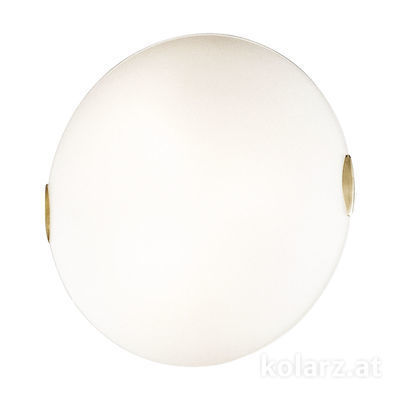 054.13.3 24 Carat Gold, White, Ø50cm, Height 13cm, 3 lights, E27