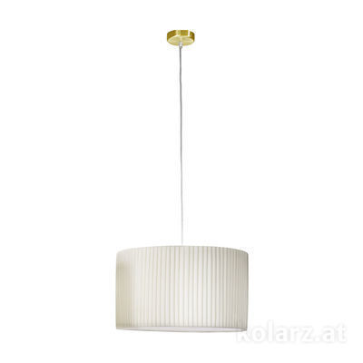 1264.31.7 Brass, Ø45cm, Height 26cm, Min. height 36cm, Max. height 100cm, 1 light, E27
