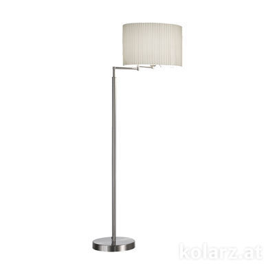 1264.41.6 Nickel, Ø40cm, Height 148cm, 1 light, E27