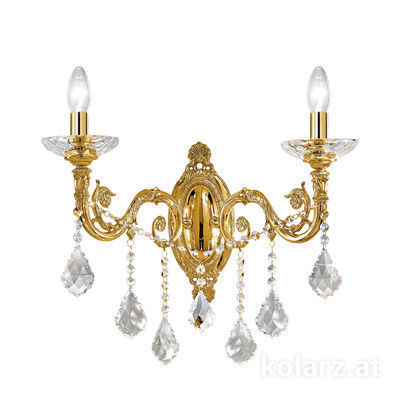 1299.62.15.SpT French Gold, Width 48cm, Height 45cm, 2 lights, E14