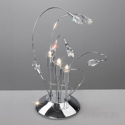 1307.73.5 Chrome, Ø16cm, Height 30cm, Max. height 30cm, 3 lights, G9