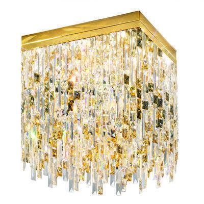 1314.18.3.P1.KpTGn 24 Carat Gold, Length 40cm, Width 40cm, Height 40cm, 8 lights, G9