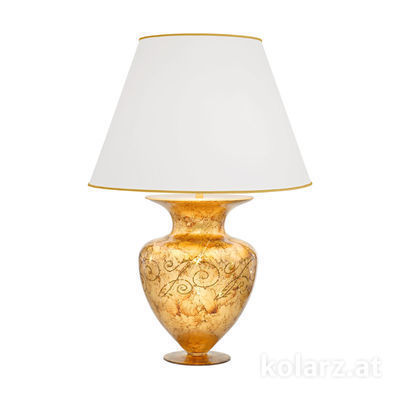 1331.71L.Me.Au 24 Carat Gold, Ø55cm, Height 90cm, 1 light, E27