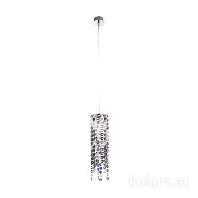 1344.31MQ.5.KpTV Chrome, Ø12cm, Max. height 85cm, 1 light, G9