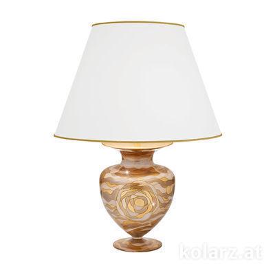 1415.71M.Ch 24 Carat Gold, Ø45cm, Height 65cm, 1 light, E27