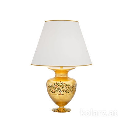 1417.71M.Mu 24 Carat Gold, Ø45cm, Height 65cm, 1 light, E27