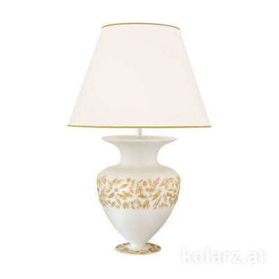 1423.71L.WA 24 Carat Gold, White, Ø55cm, Height 90cm, 1 light, E27