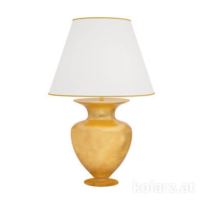 1424.71L.Au 24 Carat Gold, Ø55cm, Height 90cm, 1 light, E27