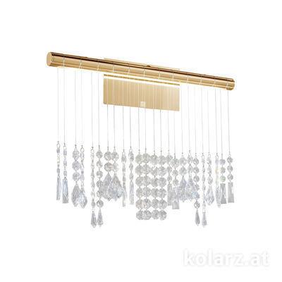 2104.63.3.KoT 24 Carat Gold, Width 49cm, Height 40cm, 1 light, LED