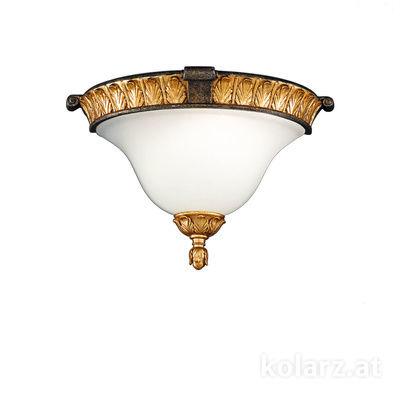 215.61 Gold/Nickel, Length 20cm, Width 31cm, 1 light, E14