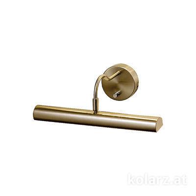 2237.62.4 Antique Brass, Width 35cm, Height 12cm, 2 lights, G9