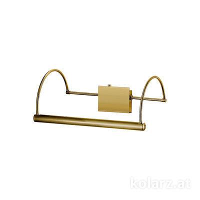 2242.62.4 Antique Brass, Width 39cm, Height 16cm, 2 lights, G9