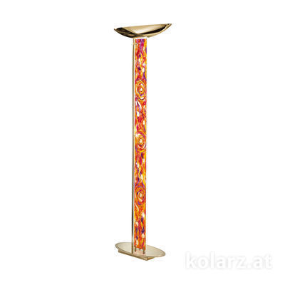 2252.41.3.Aq.RV 24 Carat Gold, Length 60cm, Width 26cm, Height 185cm, 4 lights, LED dimmable