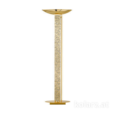 2252.41.3.Tc.W.Au 24 Carat Gold, Length 60cm, Width 26cm, Height 185cm, 4 lights, LED dimmable