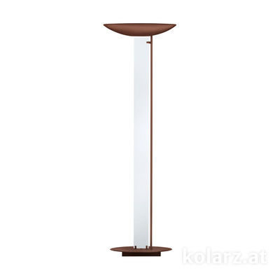 2252.41.Co Corten, Transparent, Length 60cm, Width 26cm, Height 185cm, 4 lights, LED dimmable