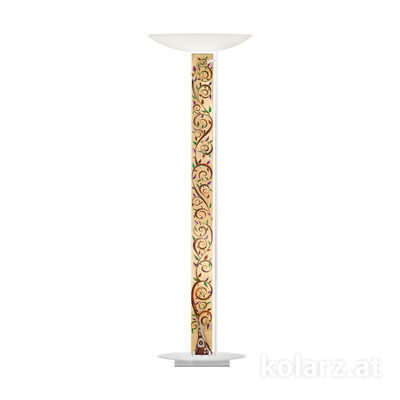 2252.41.Wm.Al.Mu White Matt, Length 60cm, Width 26cm, Height 185cm, 4 lights, LED dimmable