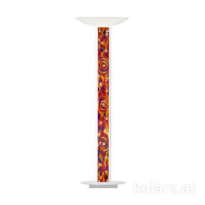 2252.41.Wm.Aq.RV White Matt, Length 60cm, Width 26cm, Height 185cm, 4 lights, LED dimmable