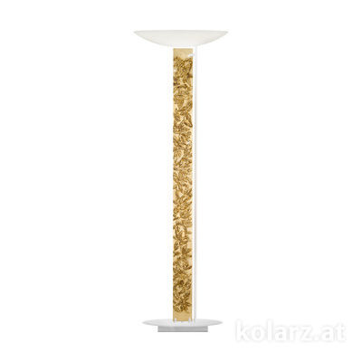 2252.41.Wm.Li.GA White Matt, Length 60cm, Width 26cm, Height 185cm, 4 lights, LED dimmable