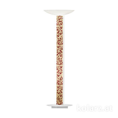 2252.41.Wm.Tc.R White Matt, Length 60cm, Width 26cm, Height 185cm, 4 lights, LED dimmable