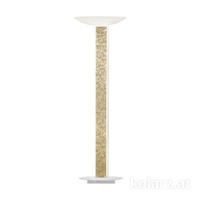 2252.41.Wm.Tc.W.Au White Matt, Length 60cm, Width 26cm, Height 185cm, 4 lights, LED dimmable