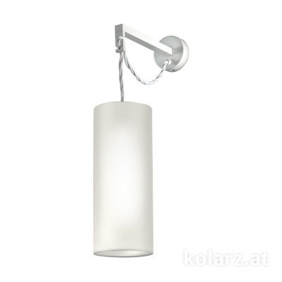 2264.61.1.W White, Ø12cm, Max. height 41cm, 1 light, E27