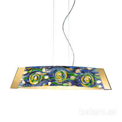 2295.31S.3/aq70 24 Carat Gold, Length 70cm, 1 light, LED