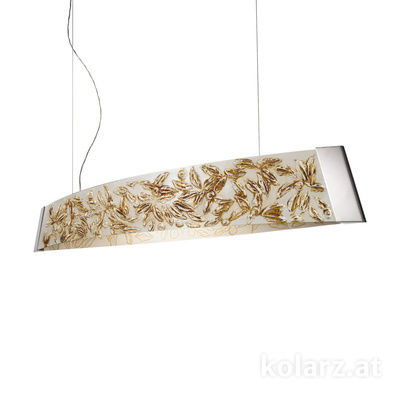 2295.32.5/li50 Chrome, Width 130cm, Height 24cm, Min. height 30cm, Max. height 259cm, 2 lights, LED dimmable
