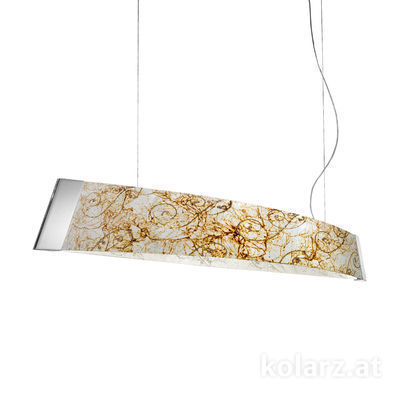2295.32.5/me50 Chrome, Width 130cm, Height 24cm, Min. height 30cm, Max. height 259cm, 2 lights, LED dimmable