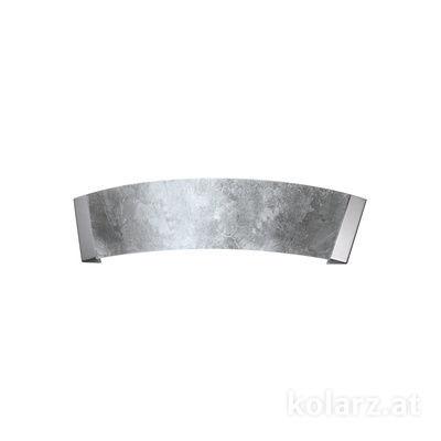 2295.62.5.Ag Chrome, Silver, Width 41cm, Height 11cm, 2 lights, G9