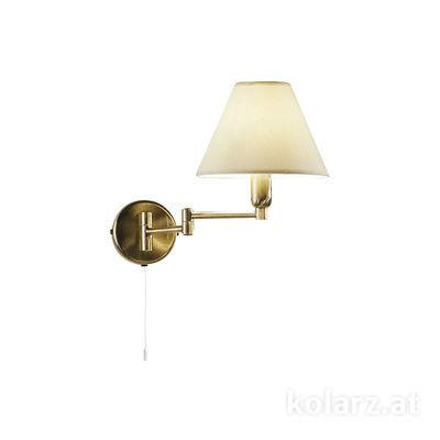 264.61.4 Antique Brass, Width 22cm, Height 24cm, 1 light, E14