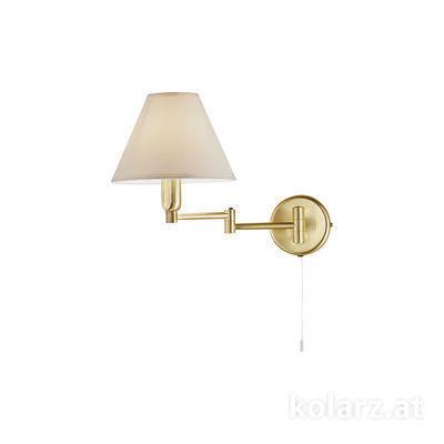 264.61.7 Brass, Width 22cm, Height 24cm, 1 light, E14