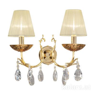 3003.62.3.KoT/me30 24 Carat Gold, Width 35cm, Height 20cm, 2 lights, E14