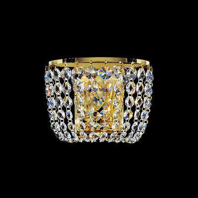3161.62/22 24 Carat Gold, Width 18cm, Height 22cm, 2 lights, E14
