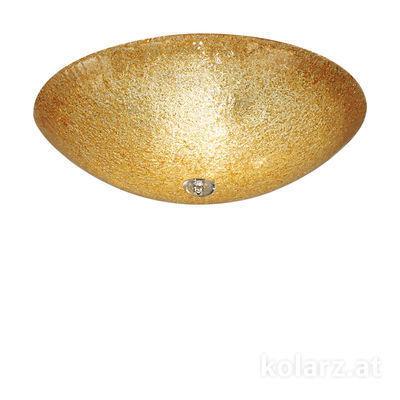 320.13.A Amber, Ø52cm, Height 18cm, 3 lights, E27