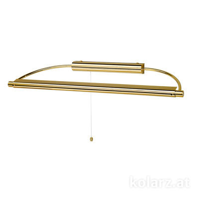 326.61.3/24 24 Carat Gold, Length 64cm, 1 light, T5