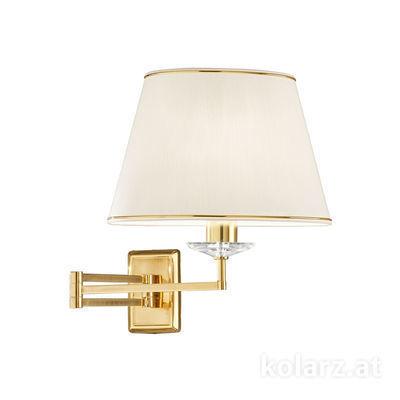 330.61.8C Engl. Brass, Height 37cm, 1 light, E27