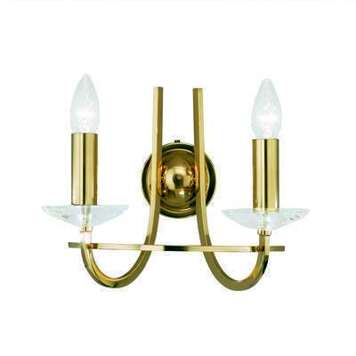 330.62.8C Engl. Brass, Width 30cm, Height 27cm, 2 lights, E14