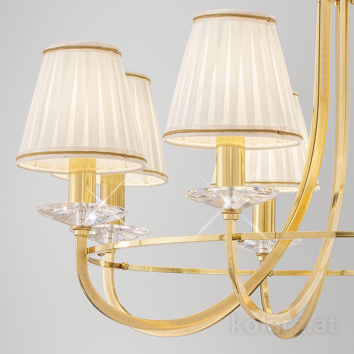 Chandelier Imperial Engl Brass 216 76 8 Lights Engl