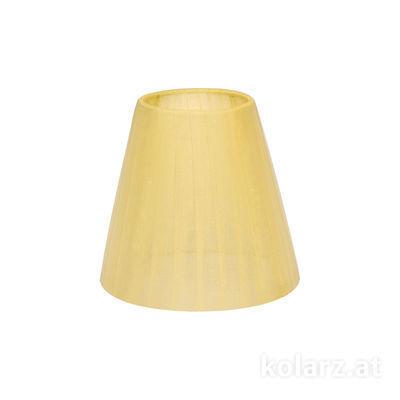 5000.E14.S01.or.A Organza, Amber, Ø14cm, Height 13cm, E14