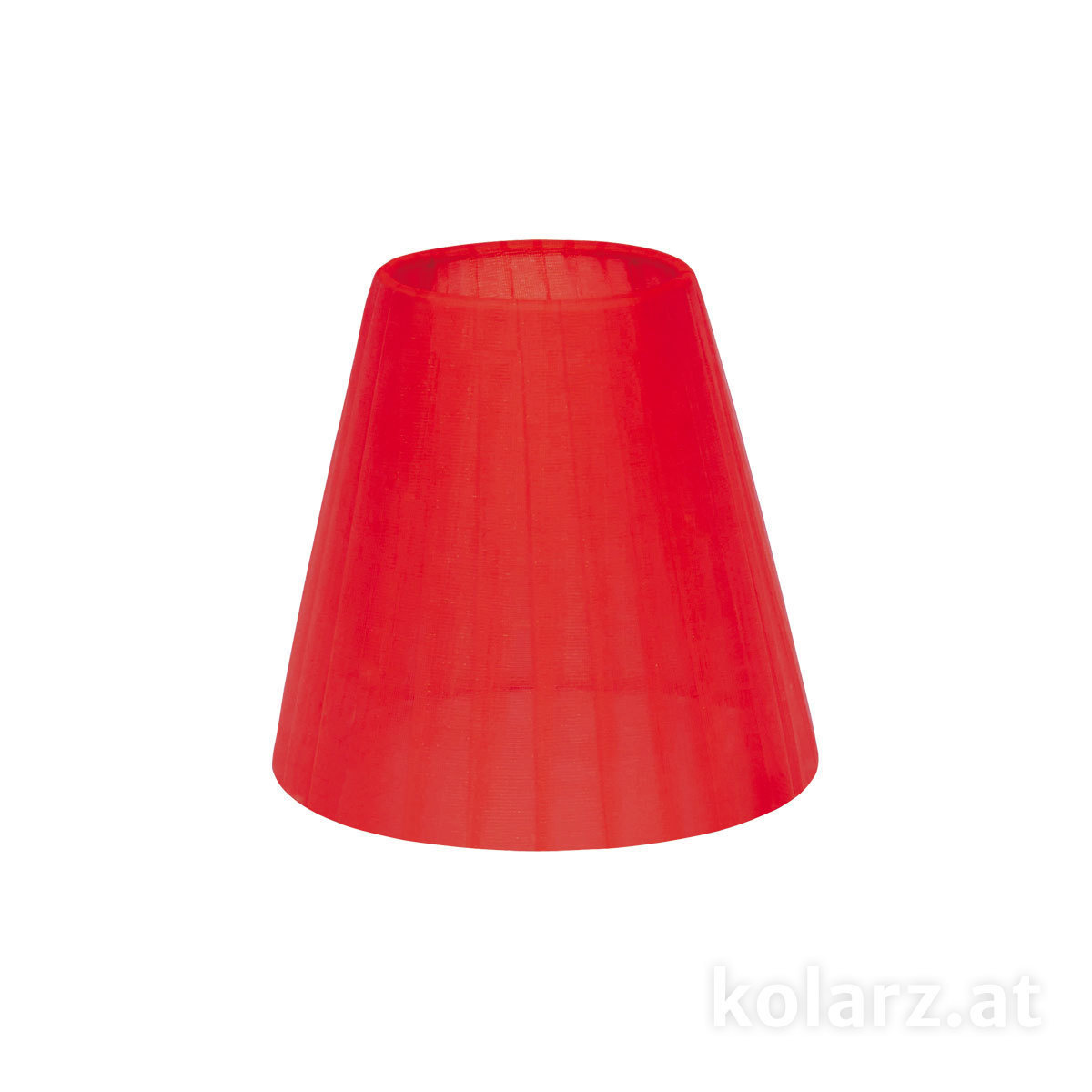 Lampshade shade organza organza red 14cm height 13cm e14 r organza red 14cm height lampshade shade aloadofball Choice Image