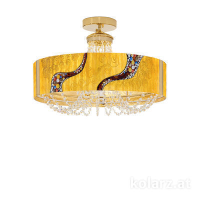 5020.10630.130/ki30 24 Carat Gold, Ø60cm, Height 40cm, 6 lights, G9