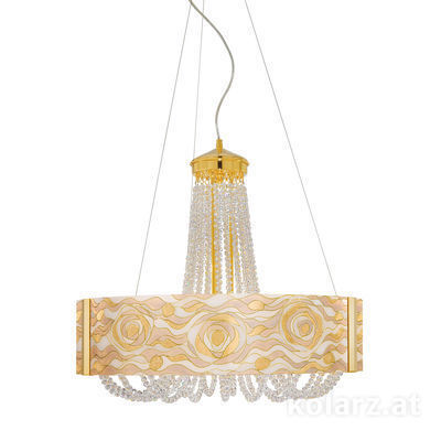 5020.30630.530/aq21 24 Carat Gold, Ø60cm, Height 60cm, Min. height 80cm, Max. height 160cm, 6 lights, G9