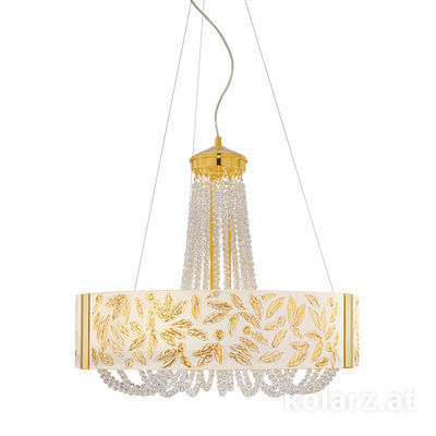 5020.30630.530/li10 24 Carat Gold, Ø60cm, Height 60cm, Min. height 80cm, Max. height 160cm, 6 lights, G9